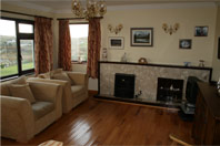 Sitting Room B & B accommodation Cleggan Co Galway